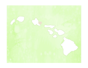 Cute Hawaii Map
