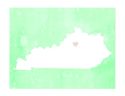 Cute Kentucky Map