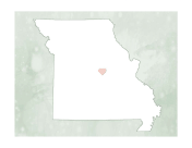 Cute Missouri Map