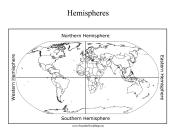 Hemispheres Map
