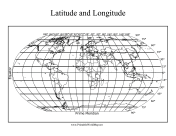 Longitude and Latitude Map