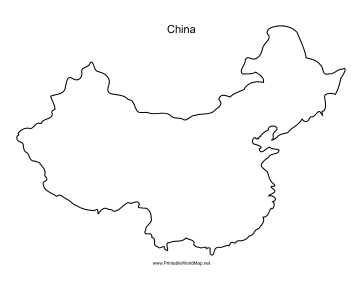 photograph regarding Printable China Map called China