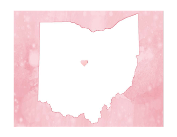 Cute Ohio Map