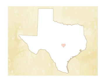 Cute Texas Map
