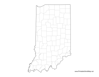 Indiana County Map