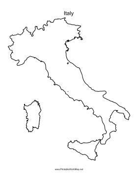 Pdf Map Of Italy.Italy Printable Maps