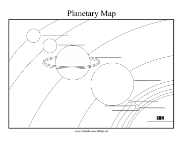 Planets Fill-in-Blanks