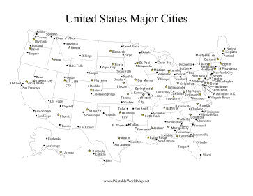 U.S. Major Cities