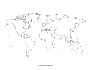 Free printable blank world map boatremyeaton blank world map gumiabroncs