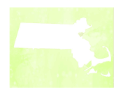 Cute Massachusetts Map