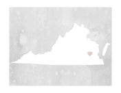 Cute Virginia Map